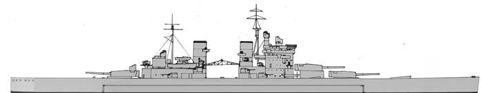 Lion class battleships