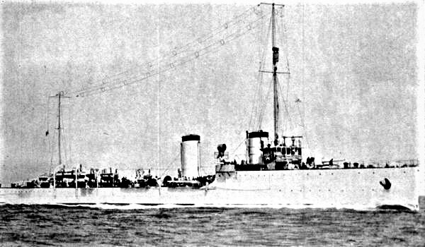 Mirabello class destroyers
