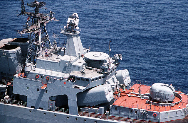 SSN-14 launchers onboard an Udaloy ship