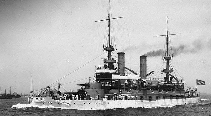 USS Kearsage underway