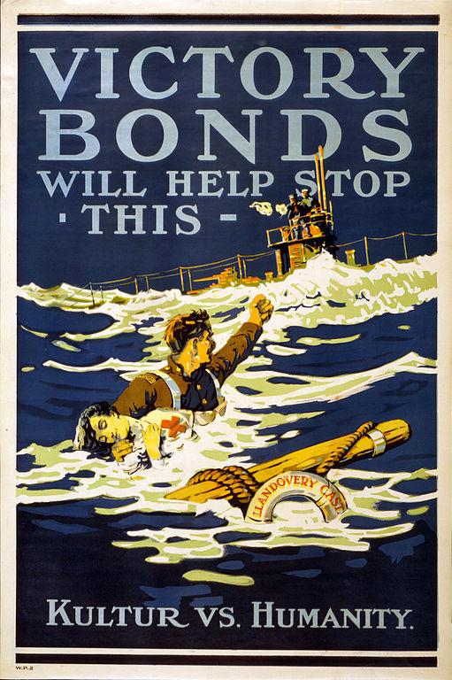 war bonds llandovery castle