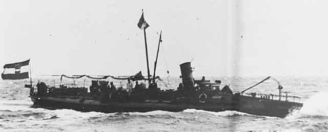 Austro-Hungarian Schichau boat N°38