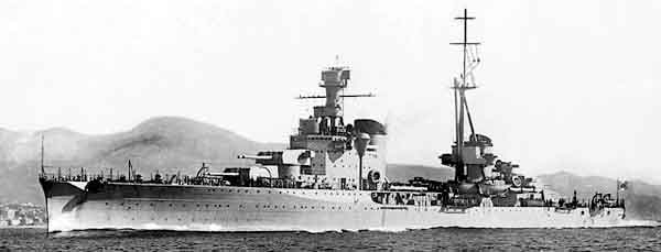Official Yard photo of the Bolzano, soon after completion
