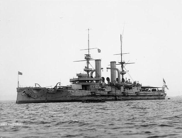 ex-Constitucion - HMS Swiftsure