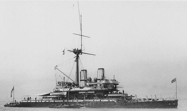 HMS Devastation 1871