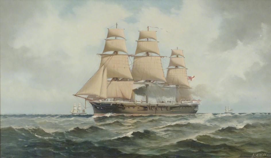 HMS_Penelope_by_Henry_Morgan-BG
