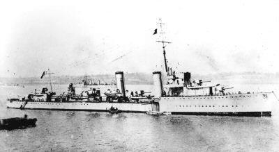 HMS Scott in 1917 - AWM