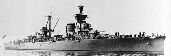 Italian heavy cruiser La Trieste