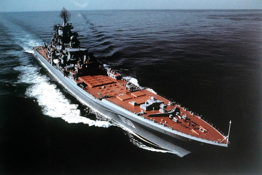 Moskva class battlecruisers
