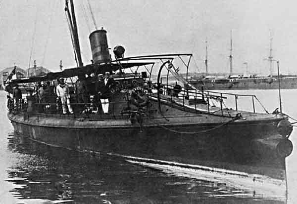 Schichau 1880s Torpedo Boat
