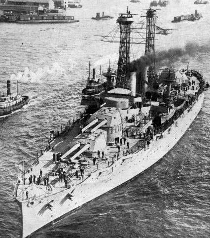 USS Texas circa 1917