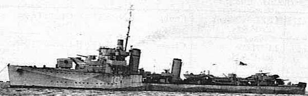 hms montrose in 1944