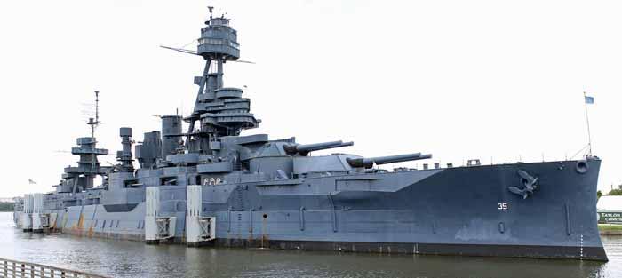 USS Texas today