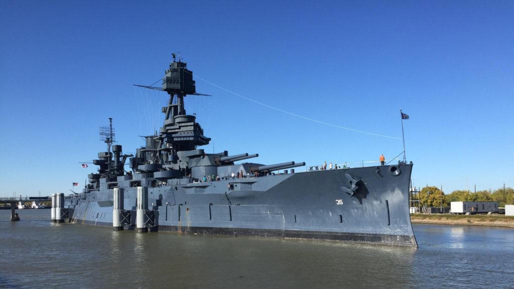 Wallpaper of the USS Texas