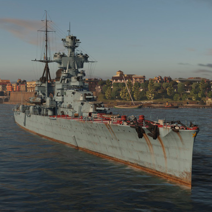 Italian cruiser trento