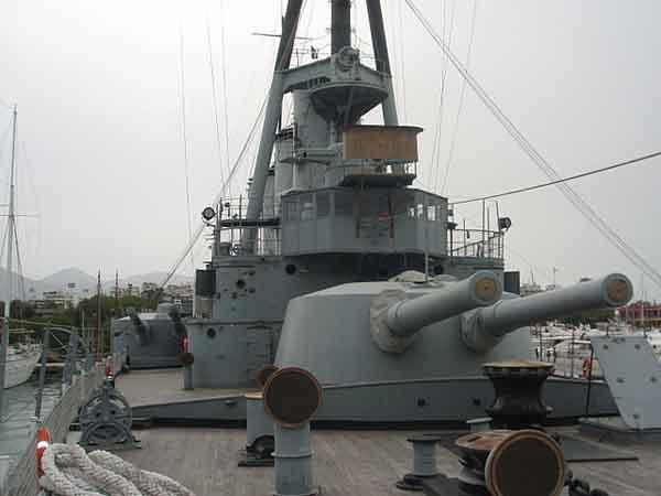 Forward main gun turret - as of today