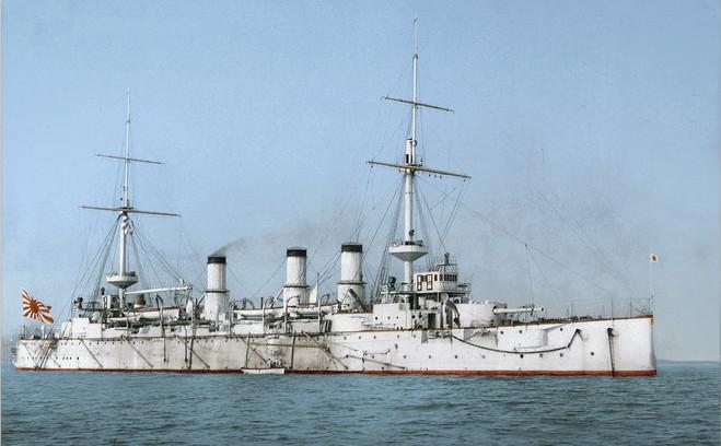 IJN Adzuma in 1900