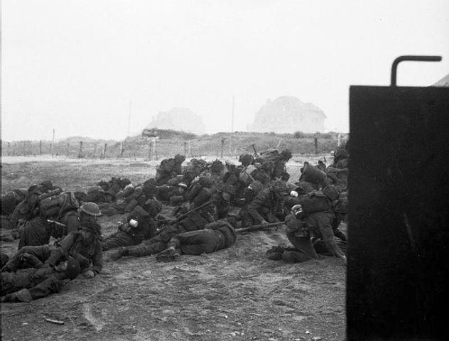 British Infantry at Gold Beach