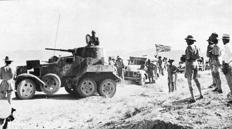 British supply Convoy BA-10