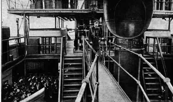 Speech of the Tsar Nicholas II onboard Knyaz Suvorov before departure
