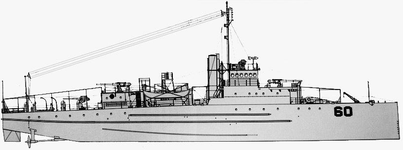 drawing of the Eagle boat