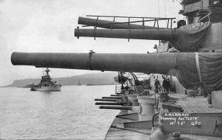 Malaya guns 1918