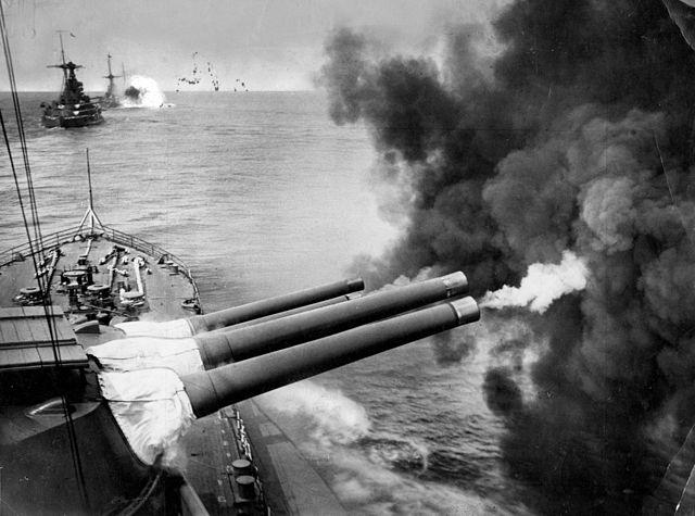 hms valiant firing
