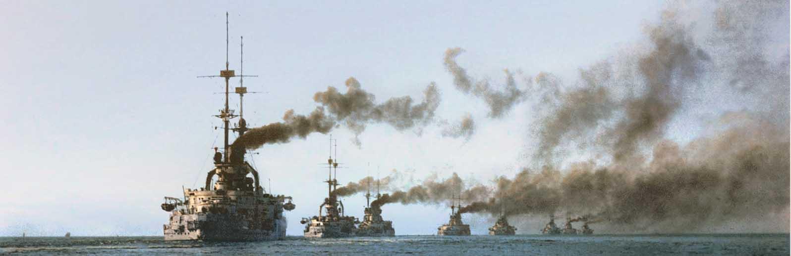 WW1 German Battleships