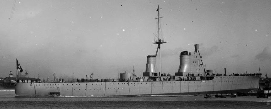 Pola completing in Livorno, 1931