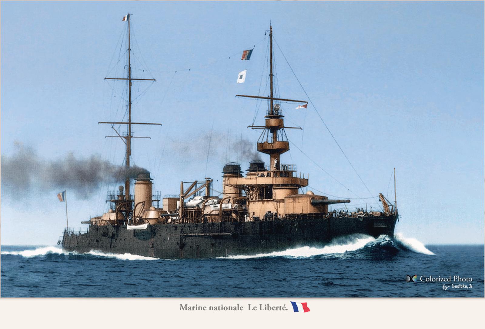 Battleship Liberté 1904