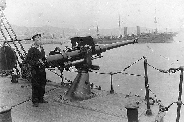 75 mm gun