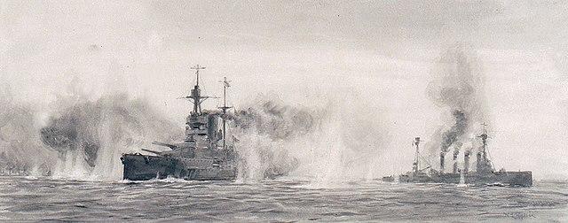 warspite and warrior