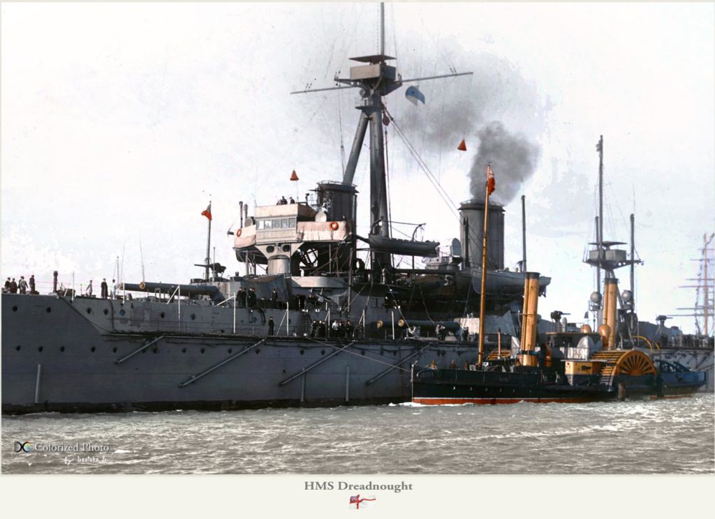 HMS Dreadnought - close