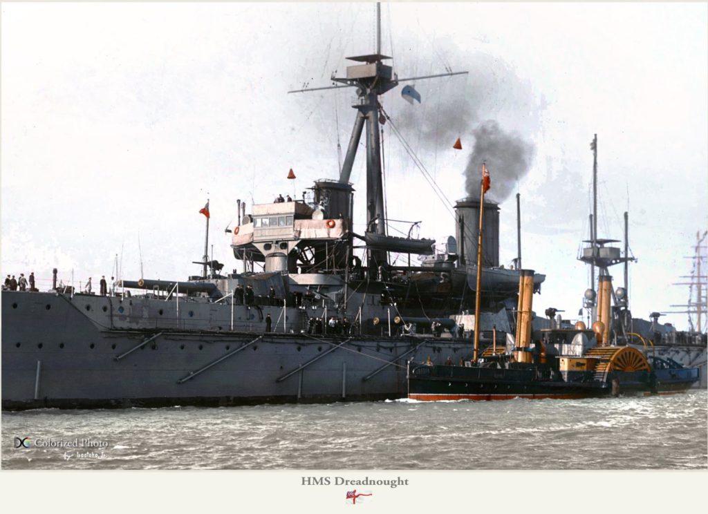 HMS Dreadnought - close
