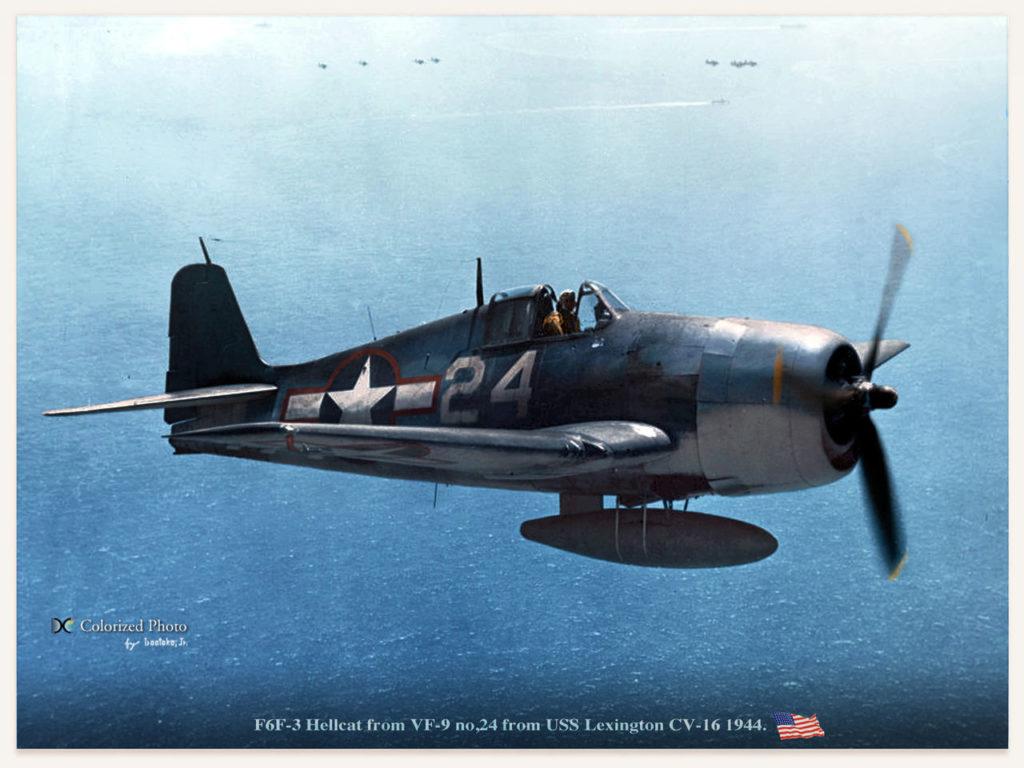 Grumman F5F Hellcat