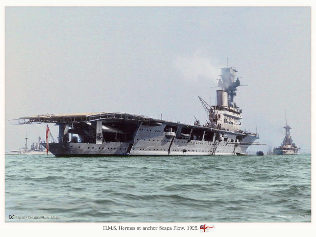 HMS Hermes - Irootoko Jr.