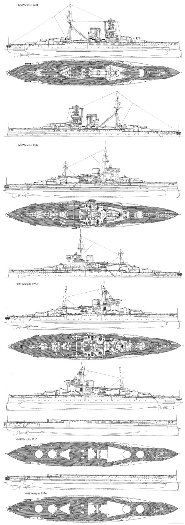 evolution warspite