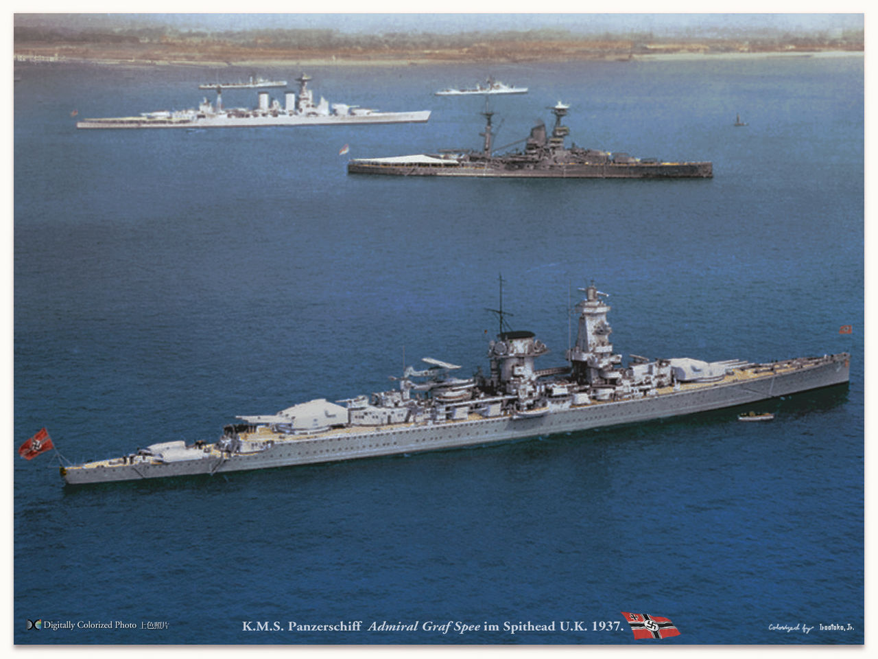 The Graf spee at scapa flow
