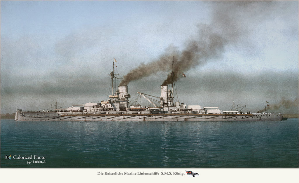 SMS König colorized by irootoko Jr
