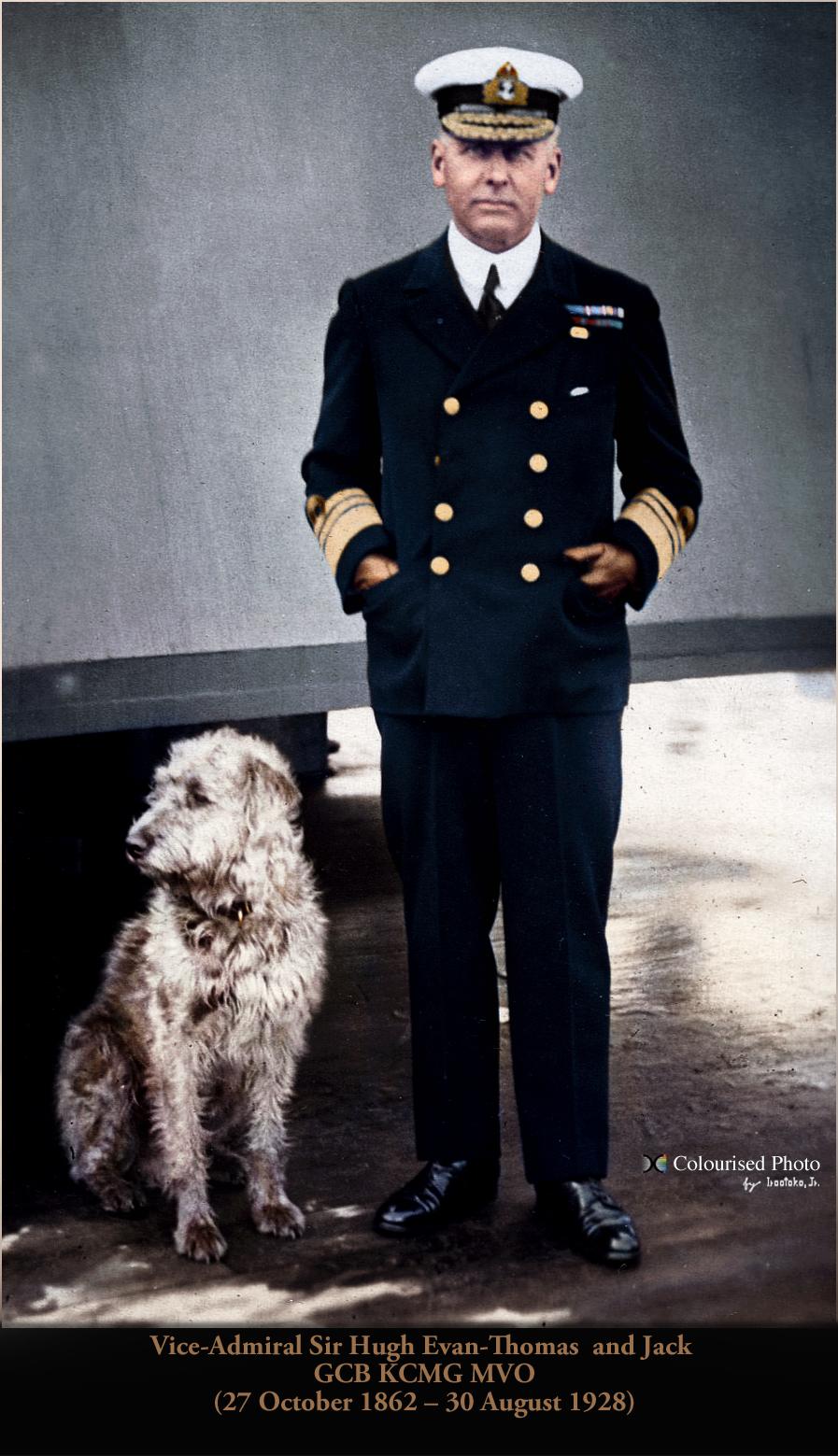 Vice Admiral Sir Evan Thomas