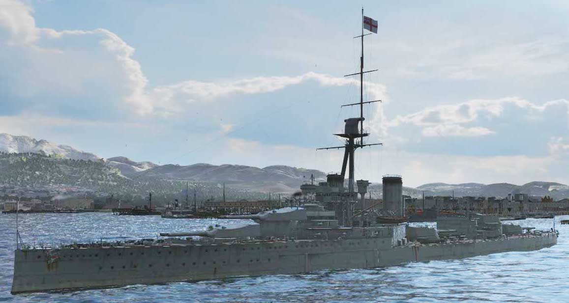 Orion - world of warships
