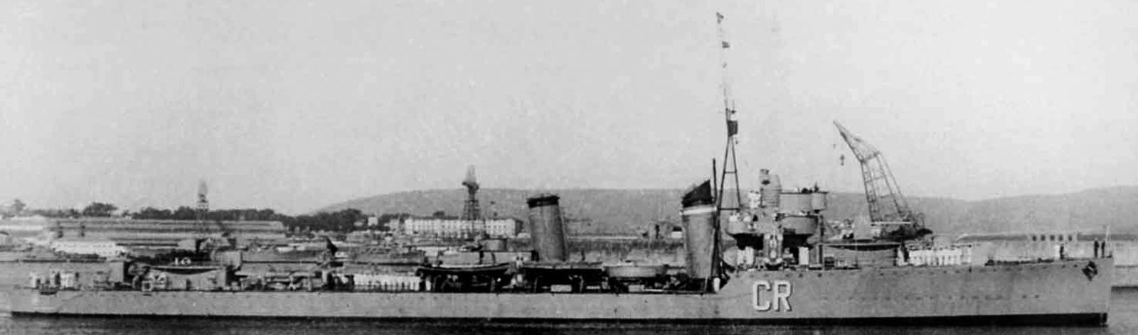WW2 Spanish Destroyers