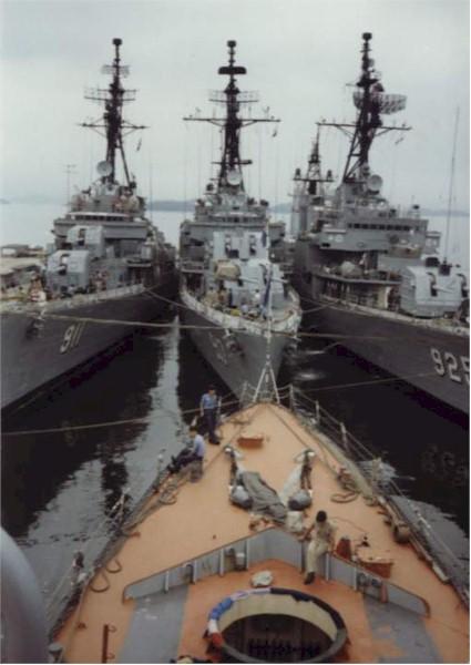 DD917 Daegu decommissioned in 2000