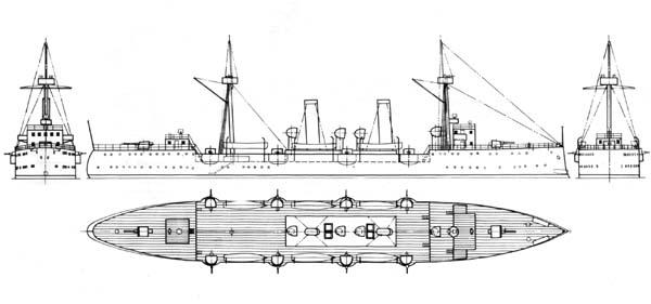 The Hai Yin, yet another cruiser design