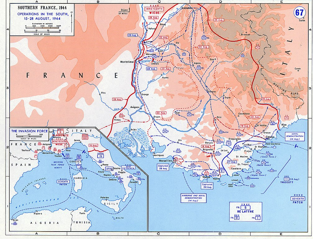 Details of operation Dragoon