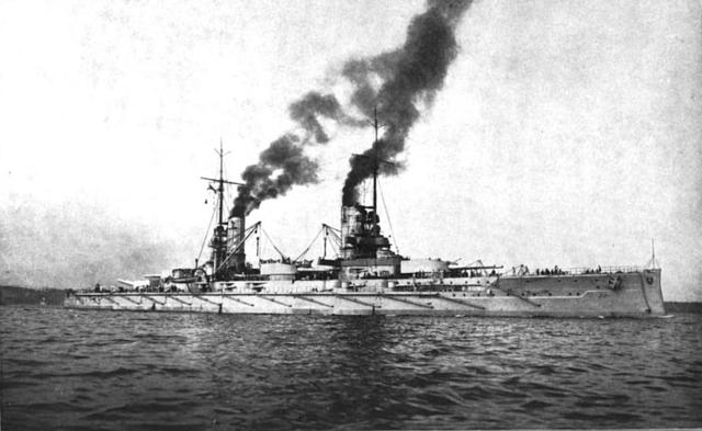 SMS Kaiser in 1912