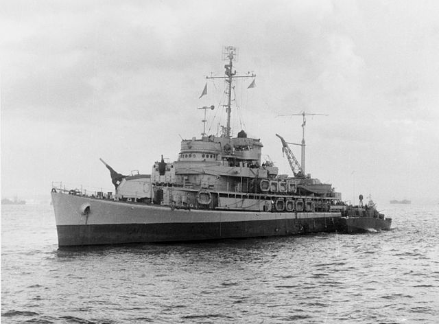 avp 11 - USS Biscayne