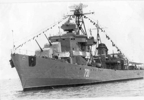 Sokol, of the Kola class Frigates