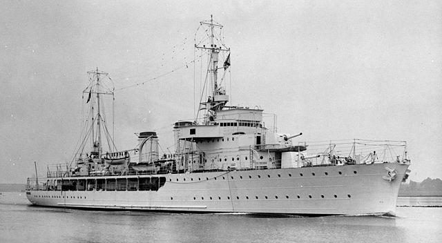 The sloop admiral Charner