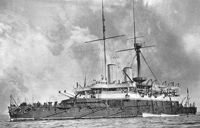 HMS Anson Circa 1897